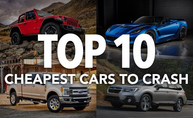 top 10 cheapest cars to crash