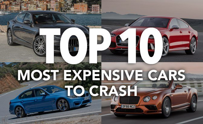 Top Most Expensive Cars To Crash AutoGuidecom News - Expensive cars