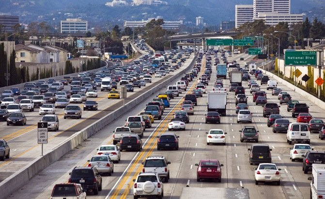 top 10 worst states for driving california