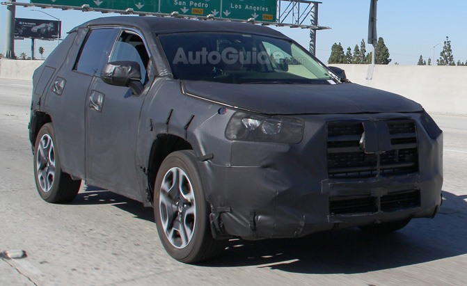 2019 Toyota Rav4 Breaks Cover Testing In Southern