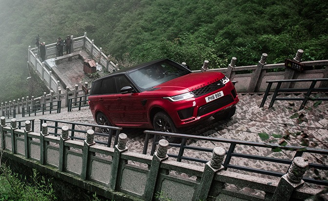 Range Rover Sport Does Something No Other Vehicle has Ever Done » AutoGuide.com News
