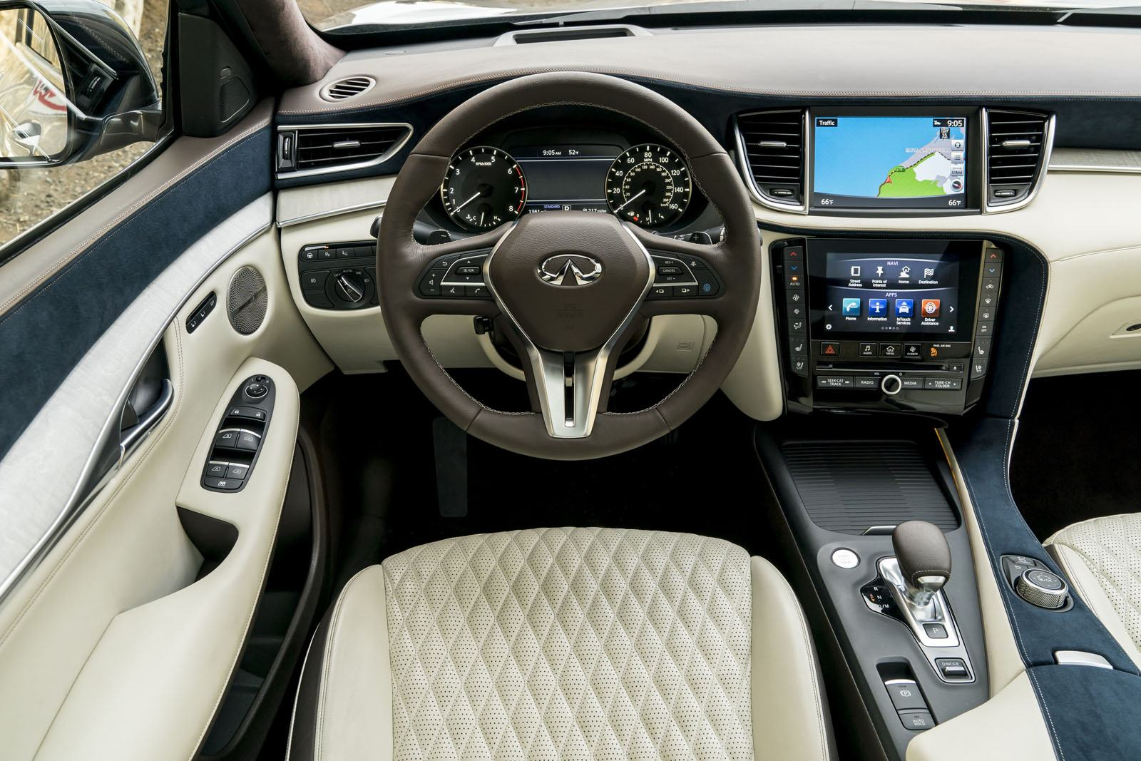 2019 infiniti qx50 review and first drive news. Black Bedroom Furniture Sets. Home Design Ideas