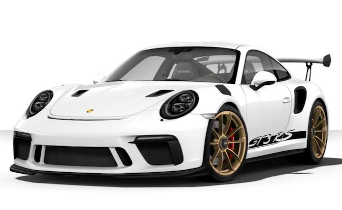 You Can Now Configure Your Own 991.2 Porsche 911 GT3 RS ...