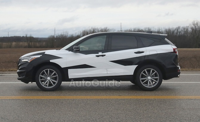 Production 2019 Acura Rdx Steps Out For The Camera