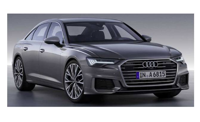 Alleged 2019 Audi A6 Photos Leak Before Full Reveal Autoguide Com News
