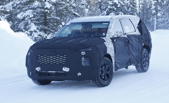 Rav4 Vs Forester >> Large Hyundai SUV Puts Chevrolet Tahoe in its Crosshairs » AutoGuide.com News