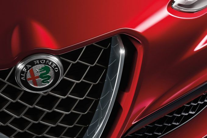 alfa romeo stelvio badge