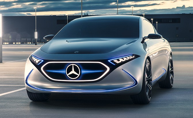 Daimler expect profits to fall as mercedes readies for All electric mercedes benz
