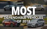 Most Dependable Vehicles of 2018: J.D. Power