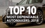 Top 10 Most Dependable Automakers: 2018 J.D. Power