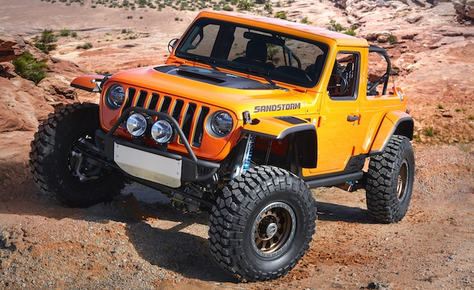 2019 Diesel Jeep Wrangler >> Jeep Wrangler Pickup Truck Expected to Hit Dealers by April 2019 » AutoGuide.com News