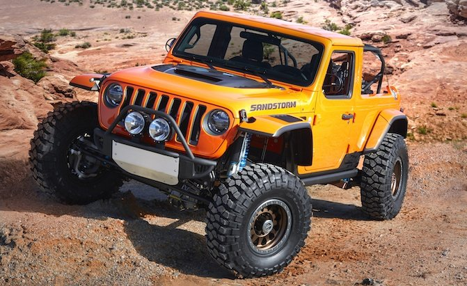 In A Stock Pickup Truck Anytime Soon But Take Good Look As What You See Here Is Likely Going To Be The New Wrangler Looks Like