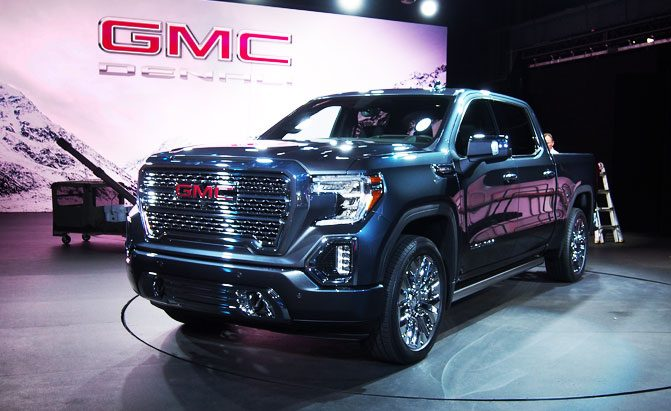 2019 GMC Sierra Offers Carbon Fiber Bed, Multi-Position ...