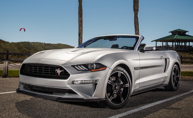 2019 Ford Mustang Brings Back California Special