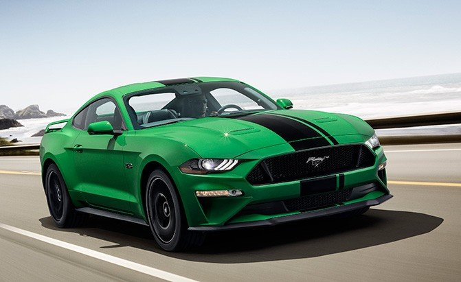 Ford Mustang Hybrid Could Pair V8 With Electric Front Axle