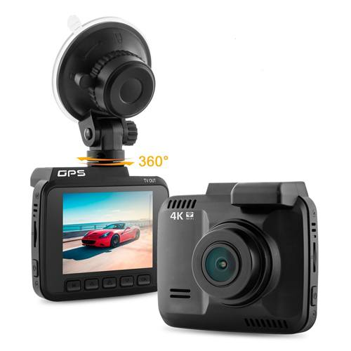 Dash Cam Car DVR Dashboard Camera with 4K FHD 150 Degree Wide-Angle Lens