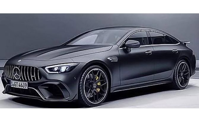 Photo of New Mercedes-AMG GT Coupe Leaks Prior to Debut ...
