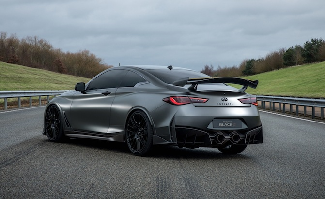 500 Hp Infiniti Q60 Black S May Reach Production By 2020 Autoguide