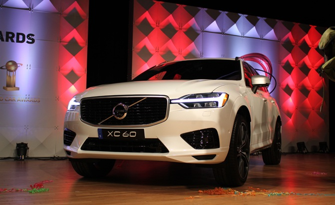 2018 volvo xc60 wins world car of the year award news. Black Bedroom Furniture Sets. Home Design Ideas