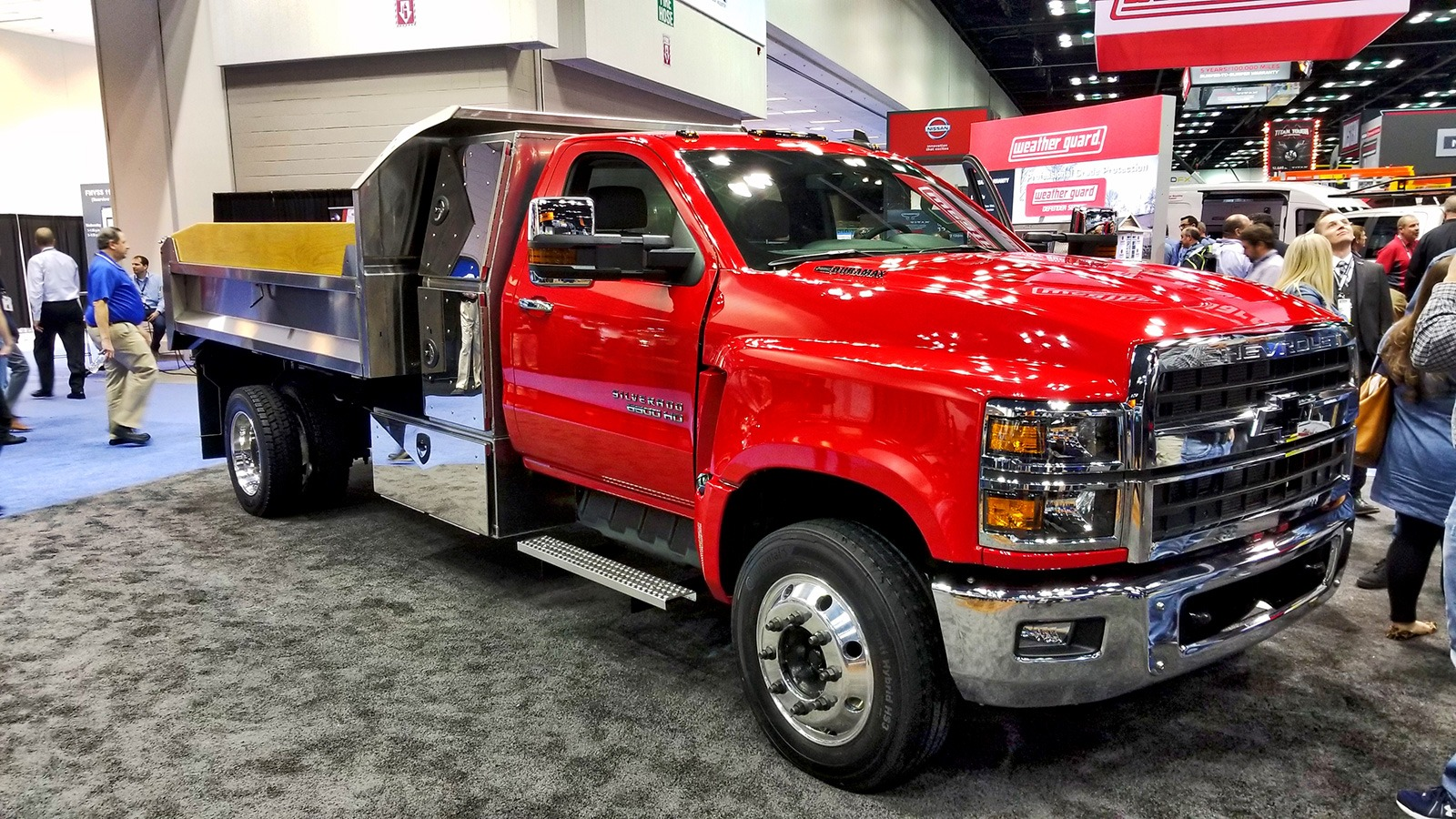 top 10 coolest trucks we saw at the 2018 work truck show news. Black Bedroom Furniture Sets. Home Design Ideas