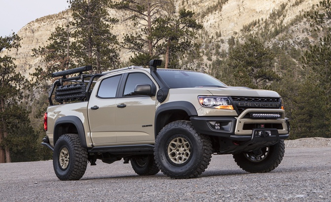 chevy colorado zr2 bison headed for production with a focus on overlanding news. Black Bedroom Furniture Sets. Home Design Ideas
