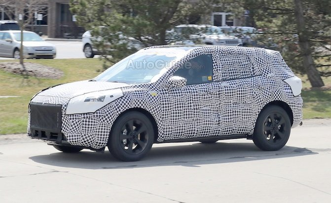 Used Buick Suv >> 2020 Ford Escape Spied Looking Like the New Focus ...