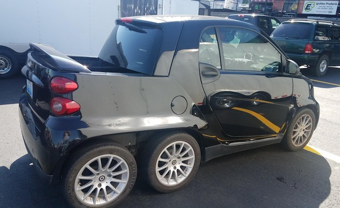 Sorry, but This 6x6 Smart ForTwo is Actually Pretty Cool ...