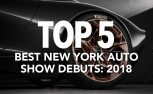 Top 5 Best Debuts at the 2018 New York Auto Show