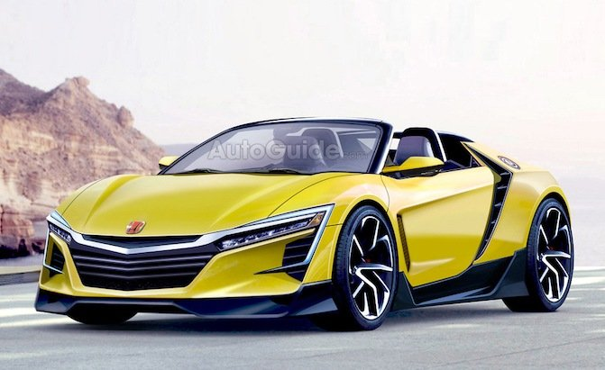 Would You Buy a New Honda S2000 if it Looked Like This?