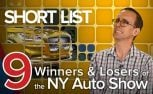 Winners and Losers From the 2018 New York Auto Show: The Short List