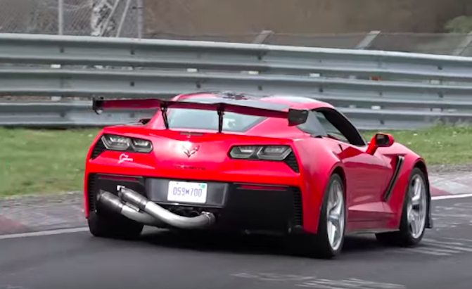 2019 Corvette ZR1 Caught Lapping the Nurburgring ...