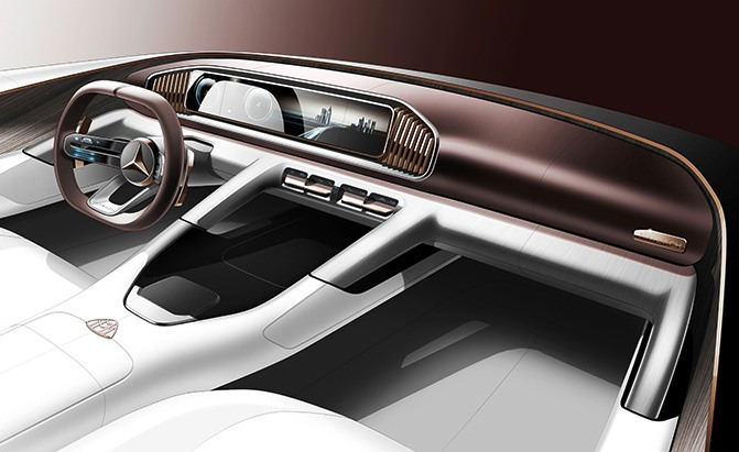 mercedes-maybach ultimate luxury concept teaser