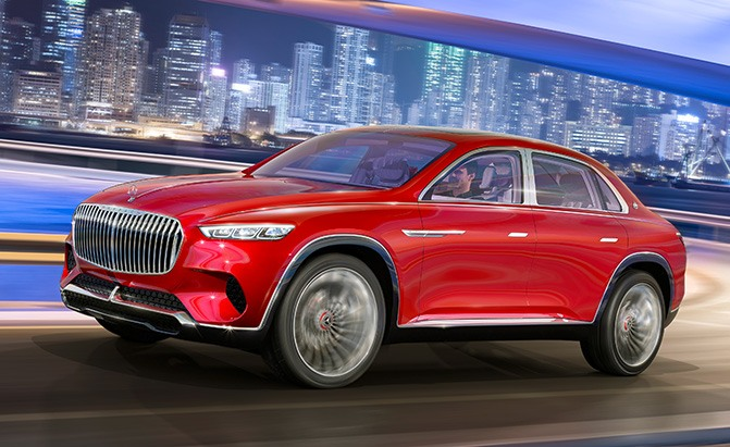 Mercedes-Maybach's SUV Concept is a Lifted S-Class Sedan ...