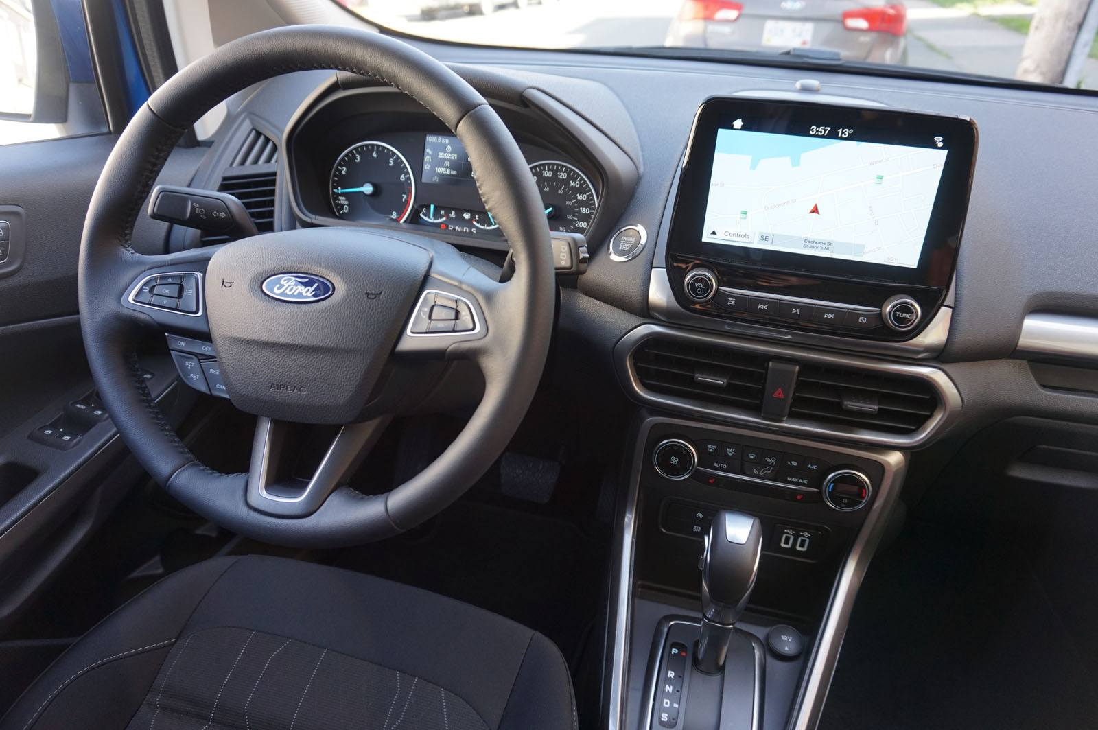 2018 Ford EcoSport Review - Dashboard