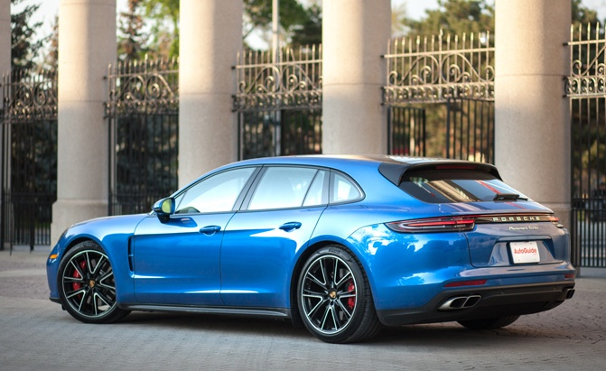 2018 Porsche Panamera Turbo Sport Turismo Review-SMART