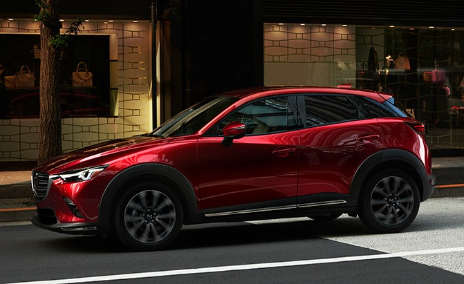 The Slightly Refreshed 2019 Mazda Cx 3 Gets A Higher