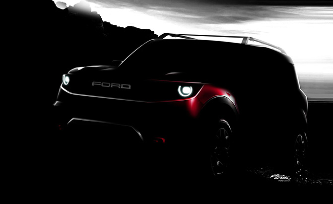 2021 ford mini bronco teaser