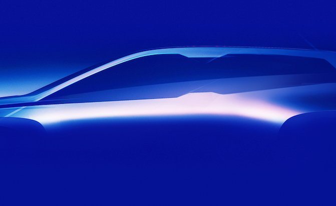 Fully Electric BMW iNext Concept Teased
