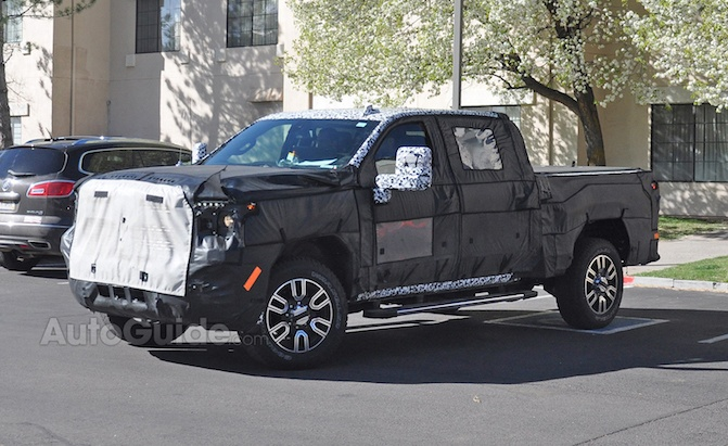 2020 GMC Sierra Denali 2500 HD Crew Cab Spied for the First Time » AutoGuide.com News