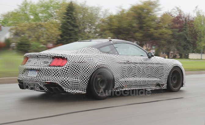 2020 Mustang GT500 Caught on Video with a Double Clutch? » AutoGuide.com News