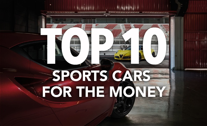 top 10 best sports cars for the money 2018 news. Black Bedroom Furniture Sets. Home Design Ideas