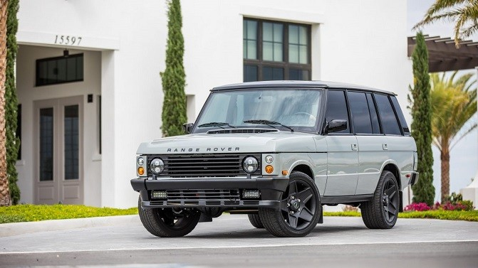 E C D Automotive Reveals Stunning Restomod Range Rover