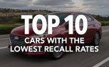 Top 10 Cars with the Lowest Recall Rates