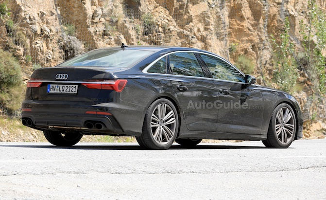 Acura Parts Online >> 2019 Audi S6 Spied With Actual, Real Exhaust Tips » AutoGuide.com News
