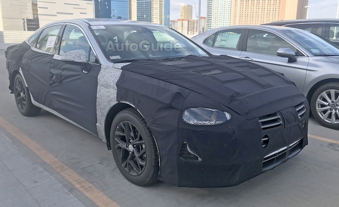Kia First Time Buyer >> 2020 Hyundai Sonata Spied for the First Time Ever ...