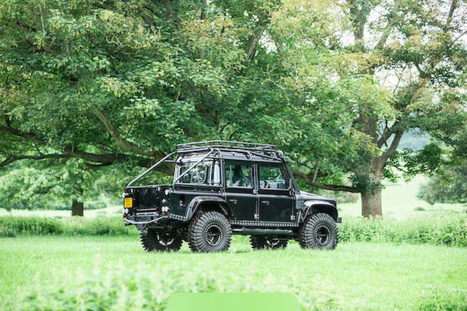 You Need This Land Rover Defender SVX Used in James Bond
