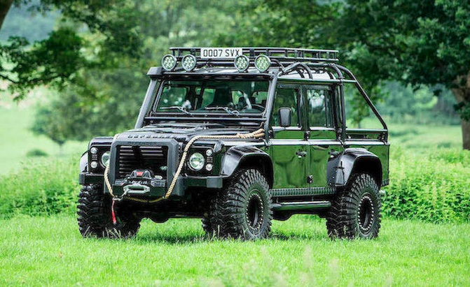 You Need This Land Rover Defender SVX Used in James Bond 'Spectre'