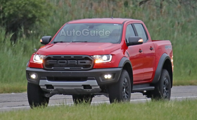 first sighting of left hand drive 2019 ford ranger raptor news. Black Bedroom Furniture Sets. Home Design Ideas