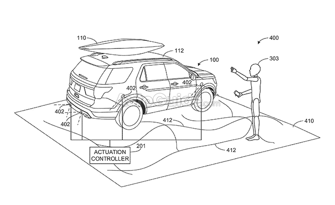ford patent unveils an easier way to unload suvs