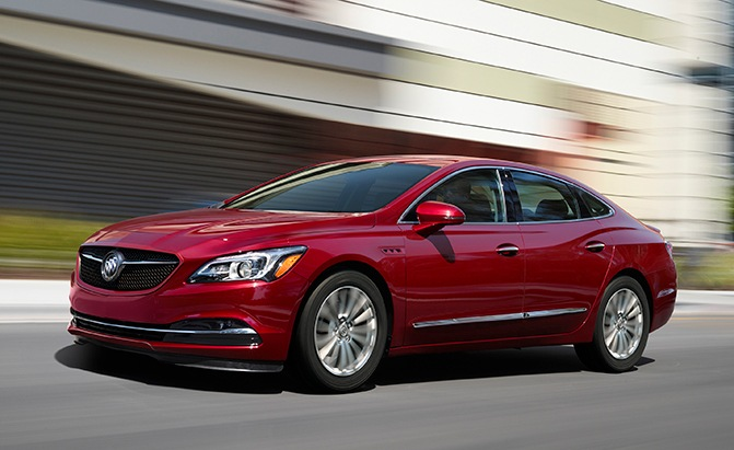 2019 Buick LaCrosse Lineup Adds Sport Touring Model ...